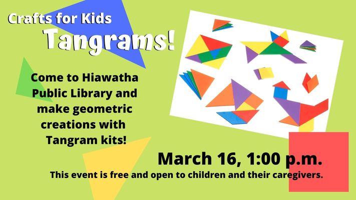 Crafts for Kids: Tangrams!