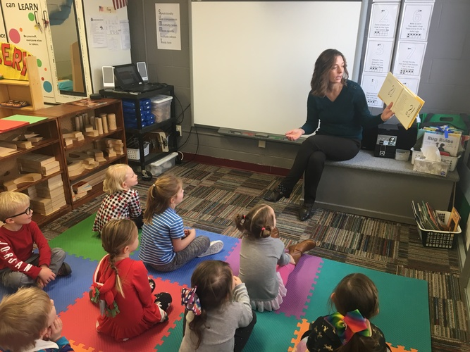 Storytime at Summit Schools