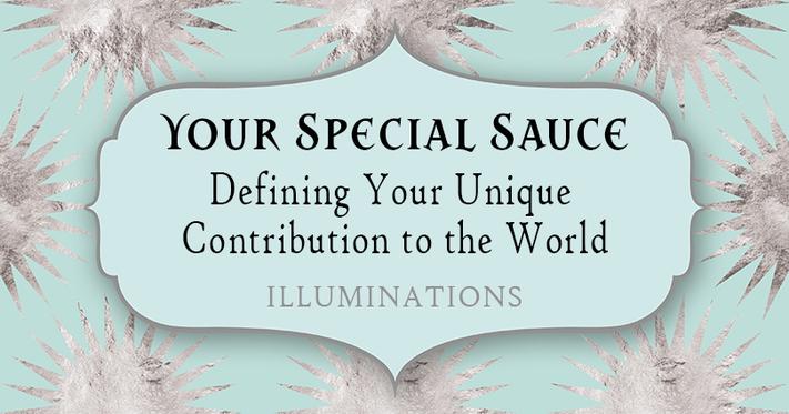 Your Special Sauce Workshop