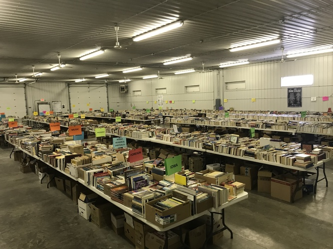 Shelter House Book Sale