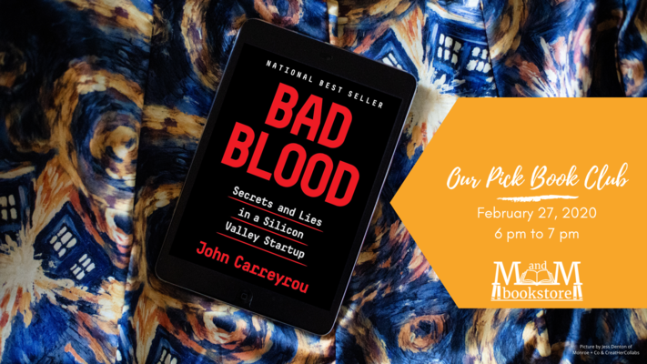 Book Club: Bad Blood