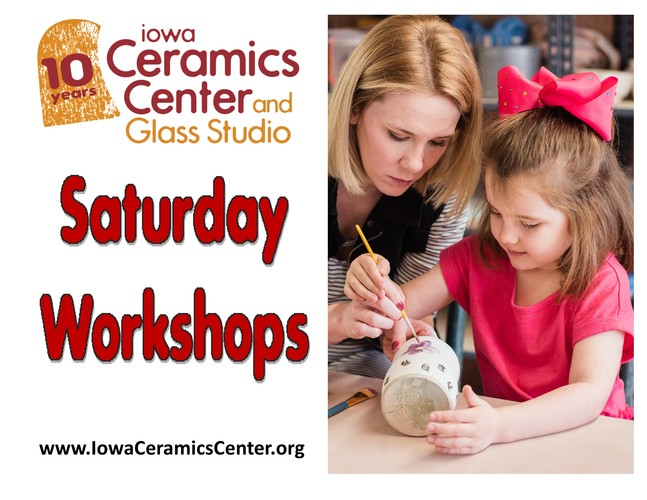 Saturday Art Workshops at ICCGS: Ceramic Snow Gnomes