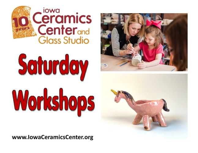 Saturday Art Workshops at ICCGS: Ceramic Animal Pots