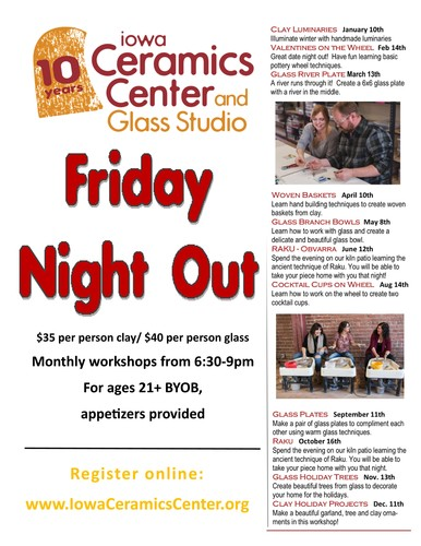 Friday Night Out at ICCGS--Workshop for ages 21+ BYOB