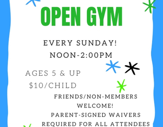 Search sunday open gym