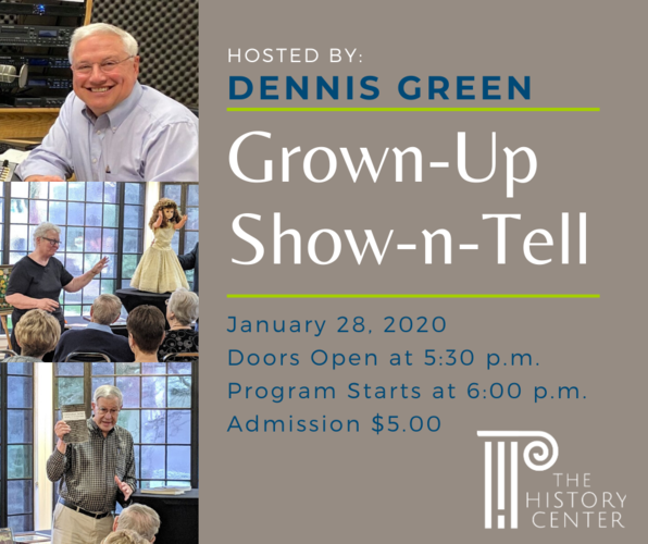 Grown up Show 'n Tell