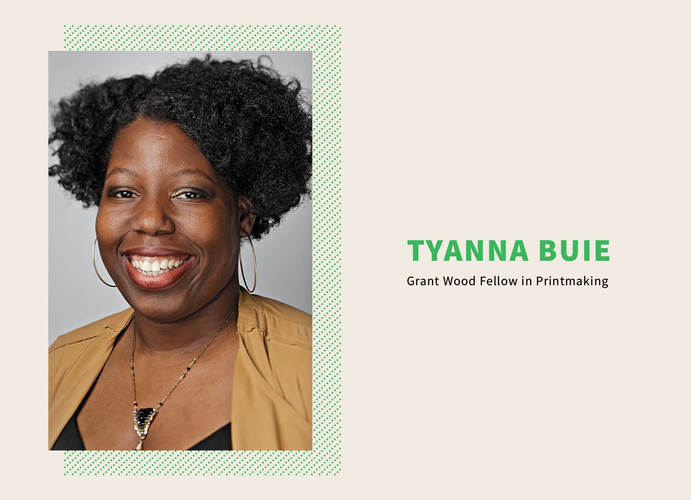 """Talk: """"Constructing Narratives"""" with Tyanna Buie"""