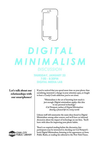 Digital Minimalism discussion