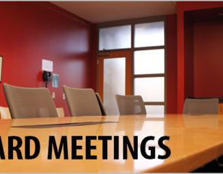 Search board meetings