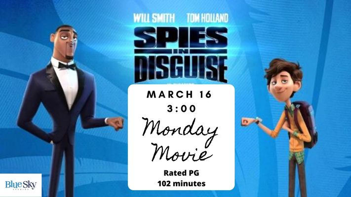 Monday Movie: Spies in Disguise