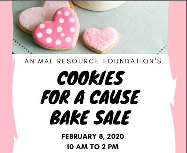 Cookies for a Cause Bake Sale