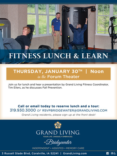 Fall Prevention at Grand Living at Bridgewater