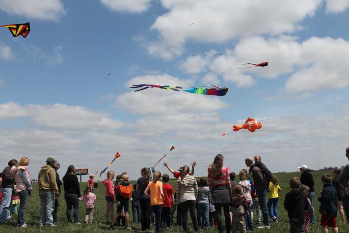 Kites Over Hoover Park