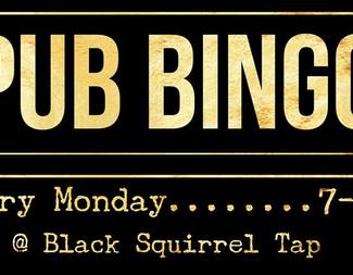 Pub Bingo at Black Squirrel Tap