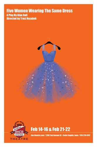 RHCR Theatre Presents: 5 Women Wearing the Same Dress