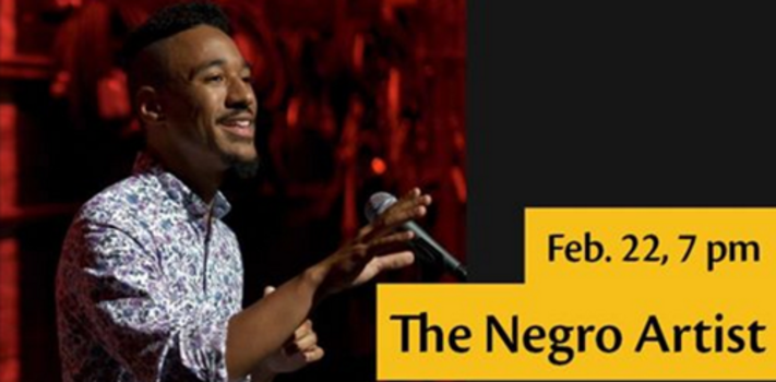 "Caleb ""The Negro Artist"" Rainey - A Spoken Word Performance"