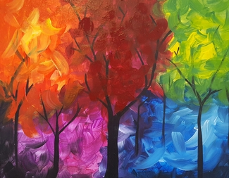 Search rainbow forest
