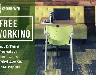 Free Coworking at Groundswell