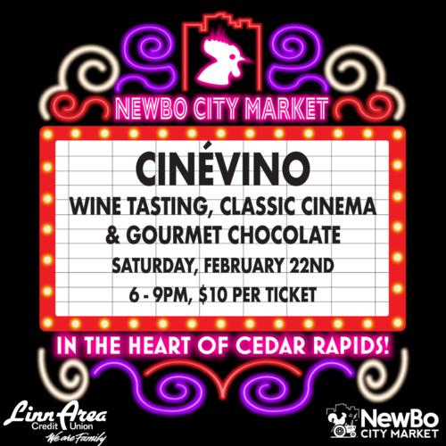 CinéVino at NewBo City Market