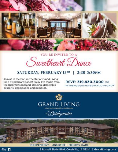 Sweetheart Dance at Grand Living at Indian Creek