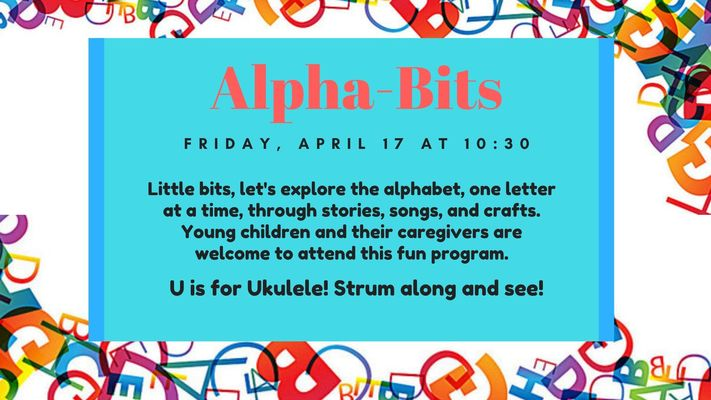 Alpha-Bits: U is for Ukulele