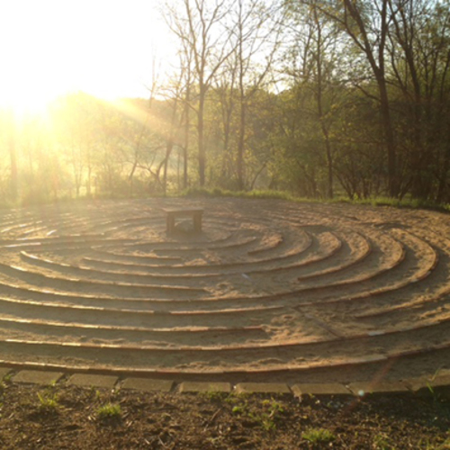Guided Labyrinth Experience at Prairiewoods