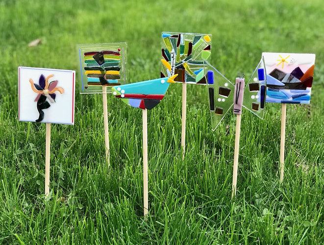 Art at Brucemore: Glass Garden Stake Workshop