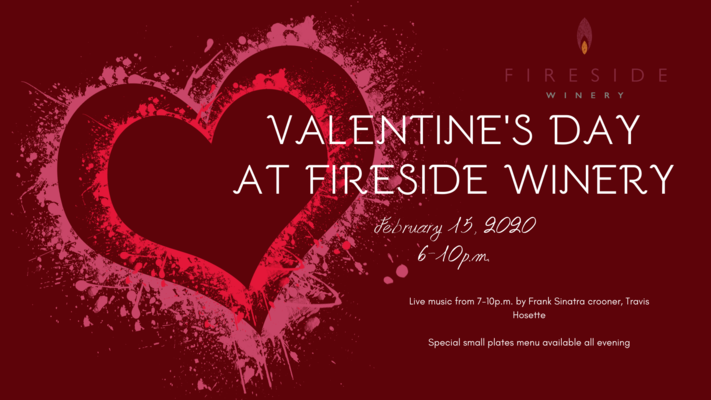 Valentine's Day at Fireside Winery