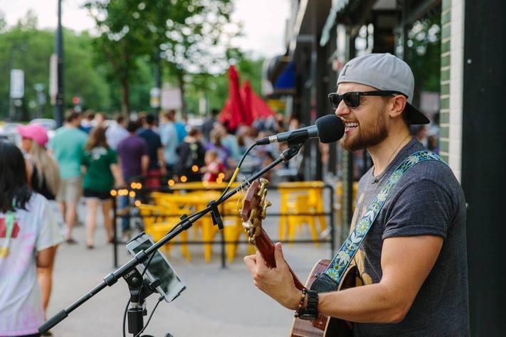 Live Music by Justin Goodchild