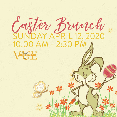 Easter Brunch at Vue Rooftop