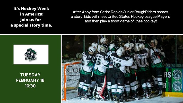 Hockey Story Time with USHL Players