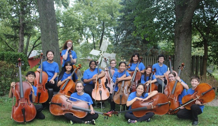 Cellissimo and the Preucil School Cello Choir  IN CONCERT
