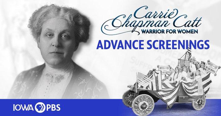 Carrie Chapman Catt Film Screening