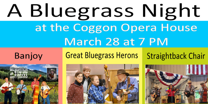 Postponed - A Bluegrass Night at the Opera House