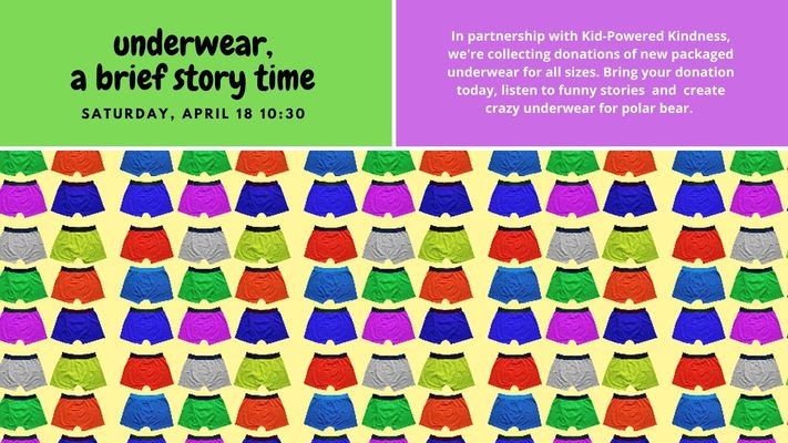 Underwear: A Brief Story Time
