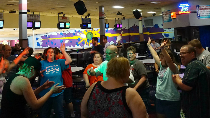Special Needs Rock 'N' Bowl