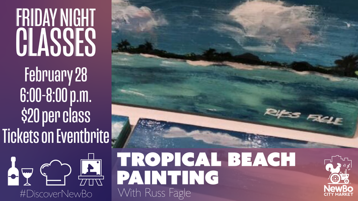 Friday Class: Tropical Beach Painting