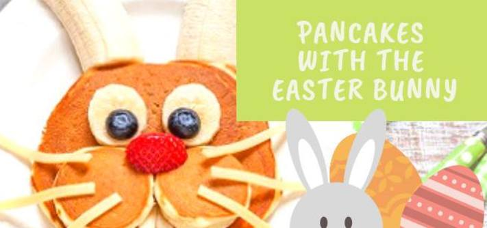 Pancakes with the Easter Bunny