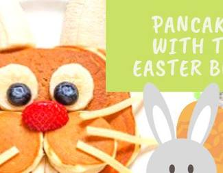 Search pancakes w easter bunny