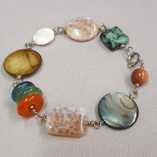 Jazzy Linked Bracelet