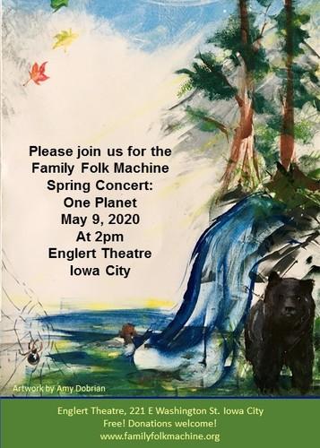 Family Folk Machine Spring 2020 Concert- One Planet