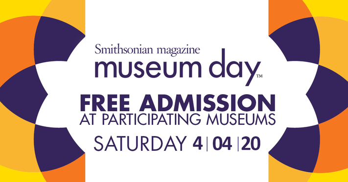 Smithsonian Museum Day - CANCELLED