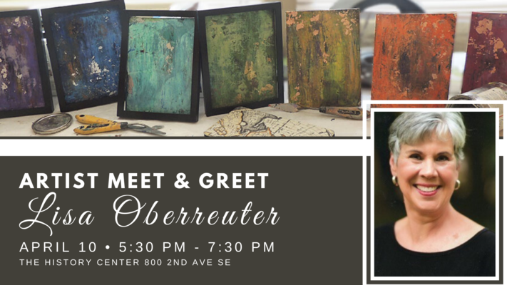 Artist Meet & Greet - Lisa Oberreruter POSTPONED