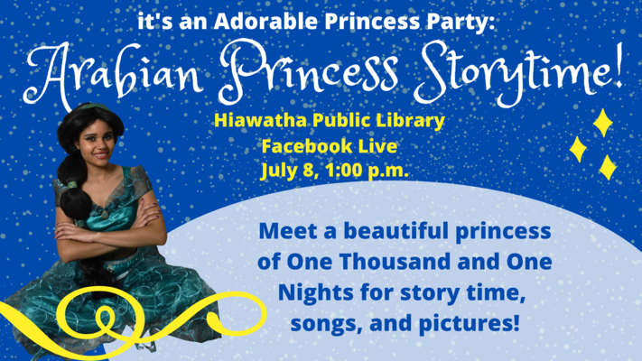Arabian Princess Storytime