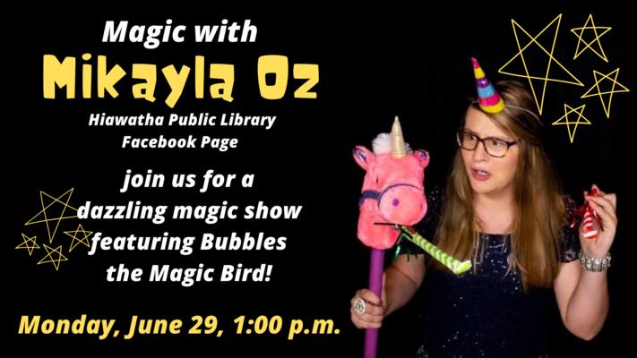 Mikayla Oz: Magician