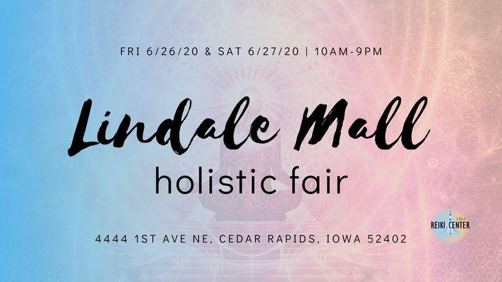 2nd Annual Lindale Mall Holistic Fair (June 26/27, 2020)