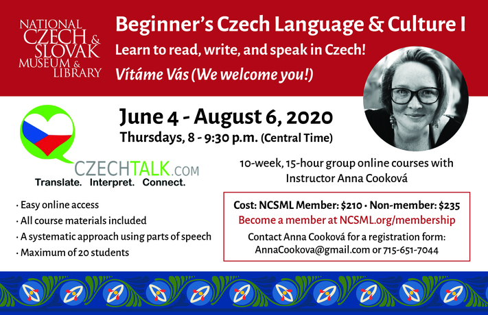 Beginner Czech Language Course 1 Series