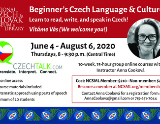 Search czech lesson flyer