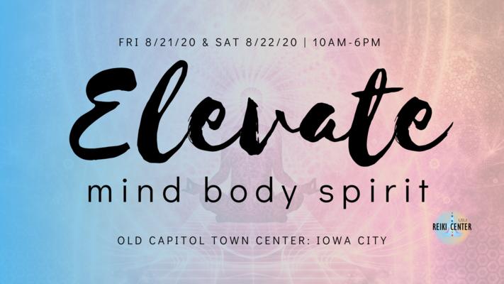 2nd Annual Old Capitol Town Center (Iowa City) Holistic Fair (Aug. 21/22, 2020)