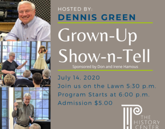 Search grown up show n tell july